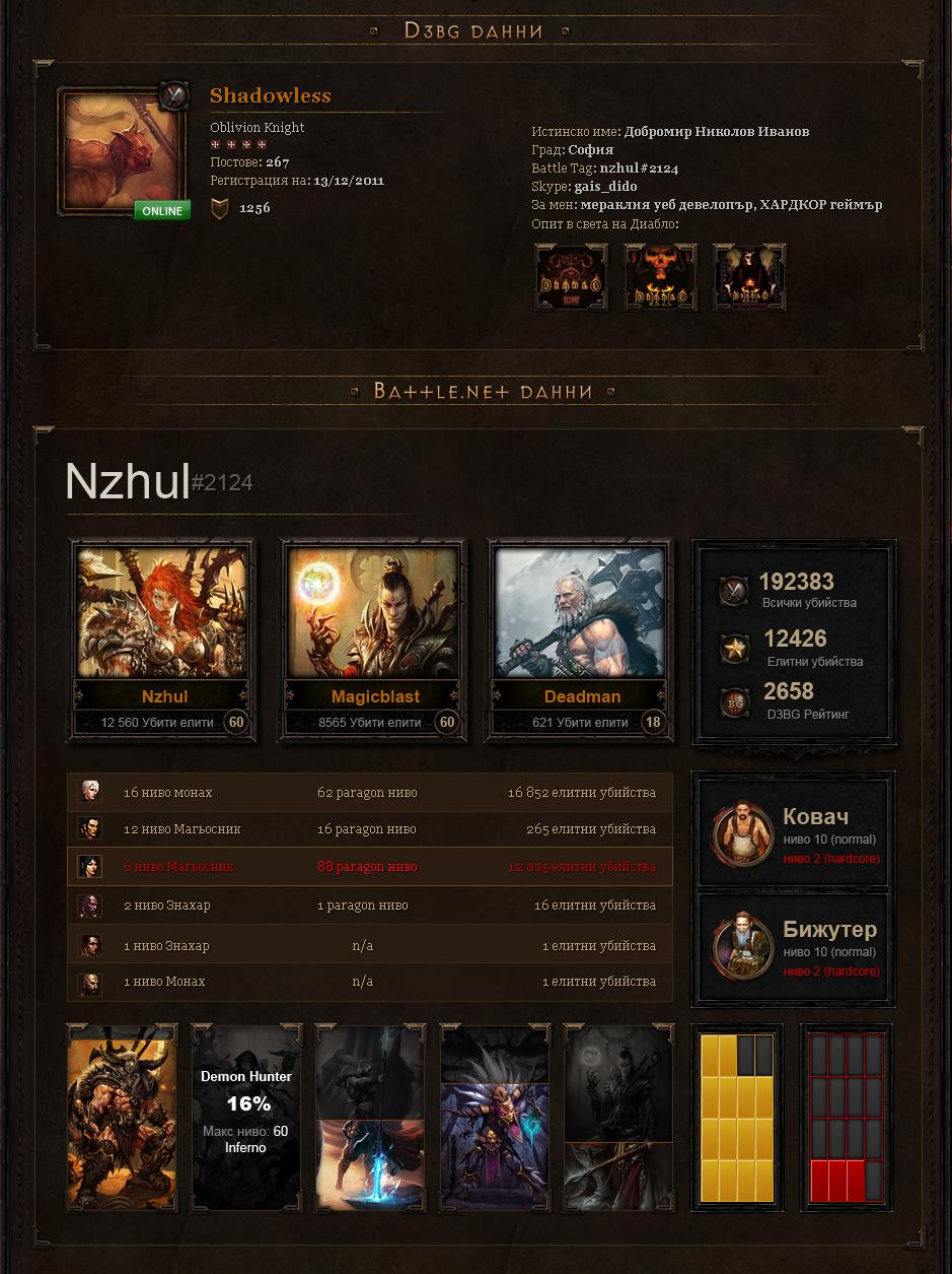 Diablo 3 Ladder Система