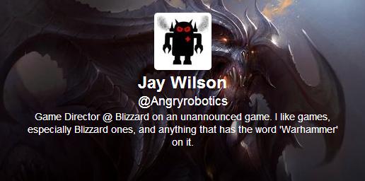 Jay Wilson e Гейм директор на все още неанонсирана игра!