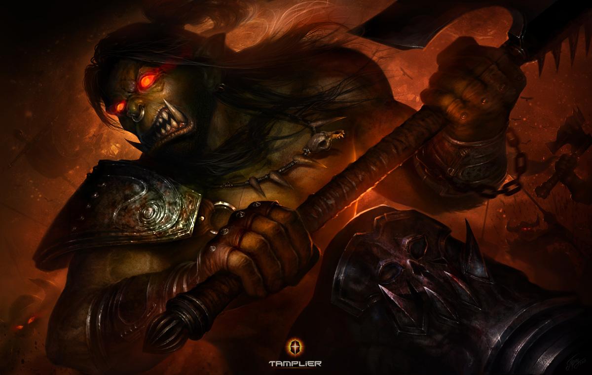 Warcraft III Gom HellScream