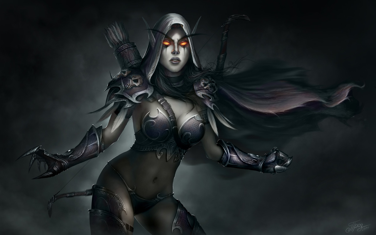 Warcraft III Sylvanas